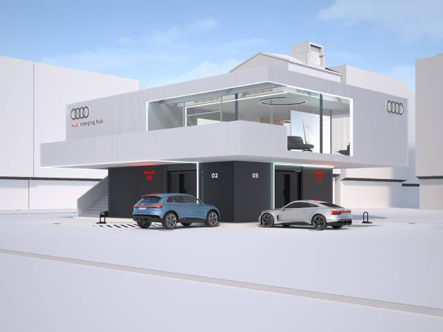 Dedicated hubs for quick-charging: the Audi pilot project
