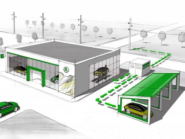 E-mobility: ŠKODA's second life cycle for used batteries