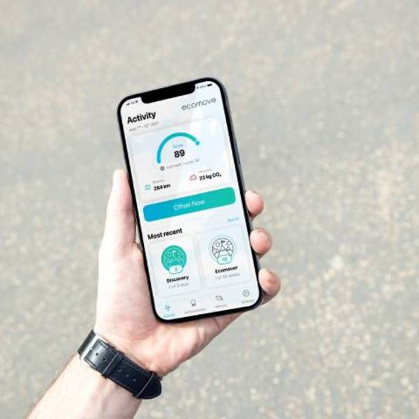 Da Audi un'app per misurare le emissioni della mobilità personale