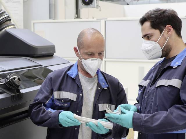 Cutting-edge production thanks to a new 3D printing process