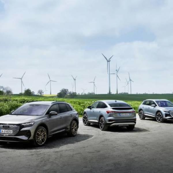 Audi promuove la fornitura di energia da fonti rinnovabili in Europa