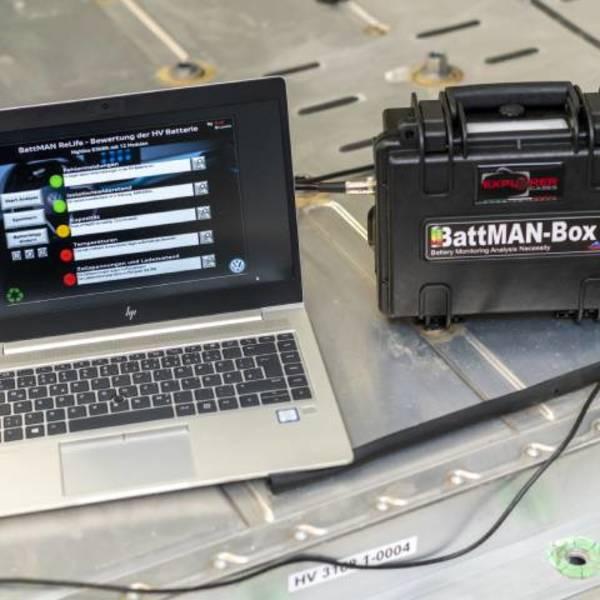 BattMAN ReLife, il sistema per il controllo rapido delle batterie al litio