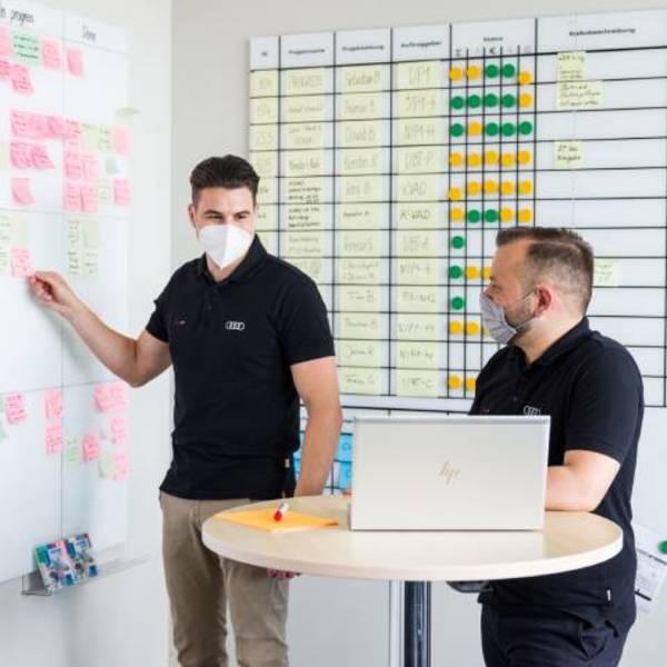 Formazione per la digitalizzazione: il progetto pilota Audi