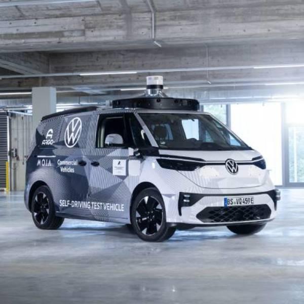 Guida autonoma: la tecnologia dell'ID.BUZZ AD